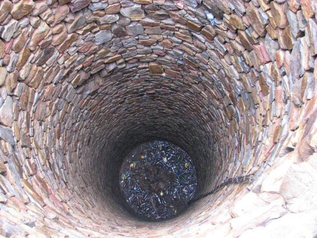 45 meter hole