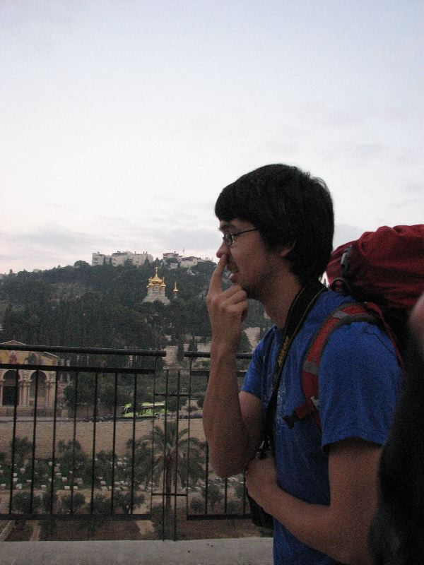 Nose picking at the Church of St Mary Magdalene