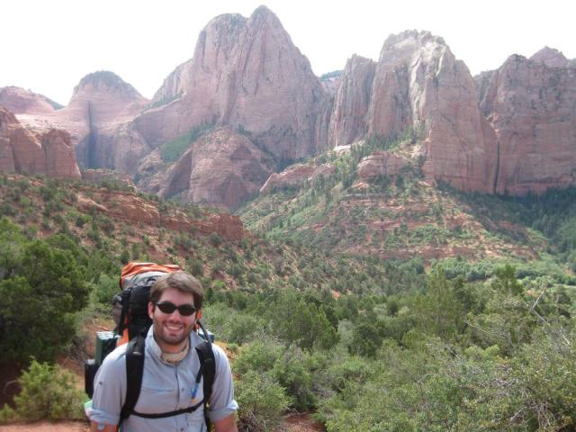 Hiking in Zion NP