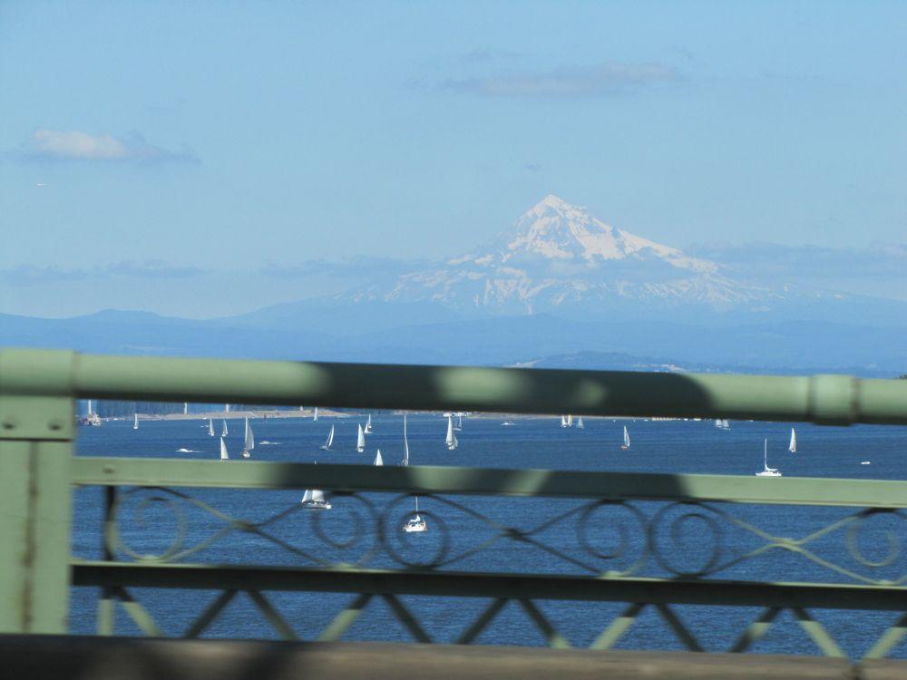 Mt Hood from Portland