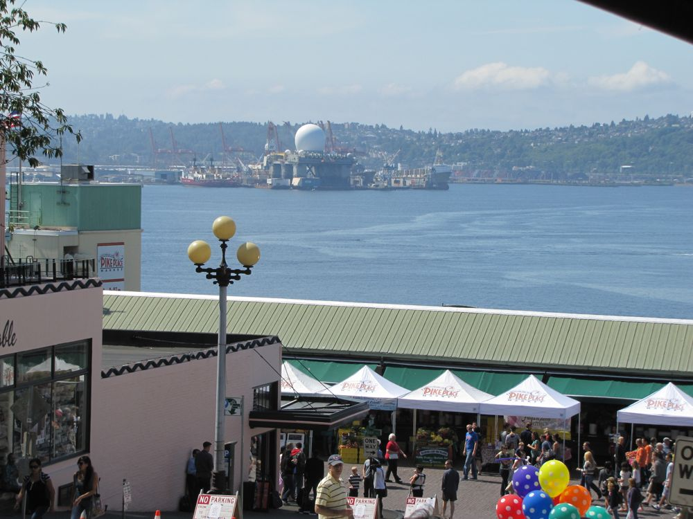Pike Place and the SBX Radar